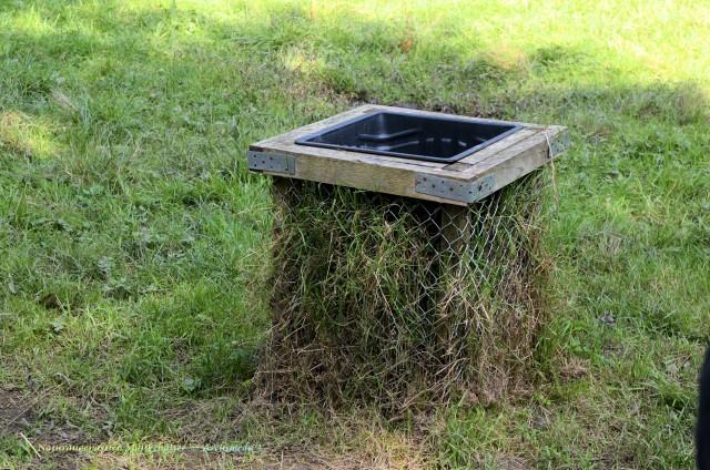 Naturangepasster Müllbehälter © Archimeda 1