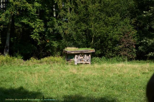 Solitäres Bienen-und Wespenhaus © Archimeda 1