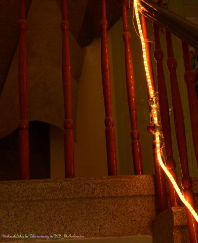 Weihnachtliches bei Flursanierung in DD_©Archimeda1