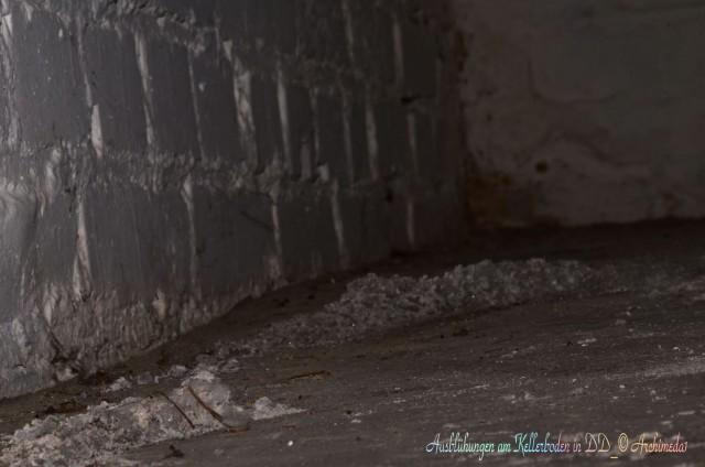 Ausblühungen am Kellerboden in DD_© Archimeda1