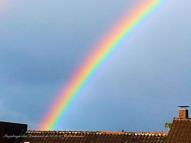 Regenbogen über Dortmund am 06.05.15_©Archimeda1