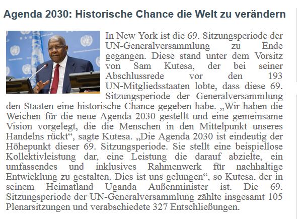 AGENDA 2030_Snippet von UNRIC_org