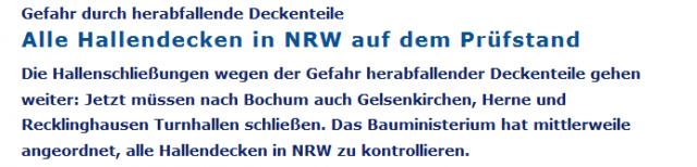 Snippet WDR_TurnhallenDecken_10.09.2015