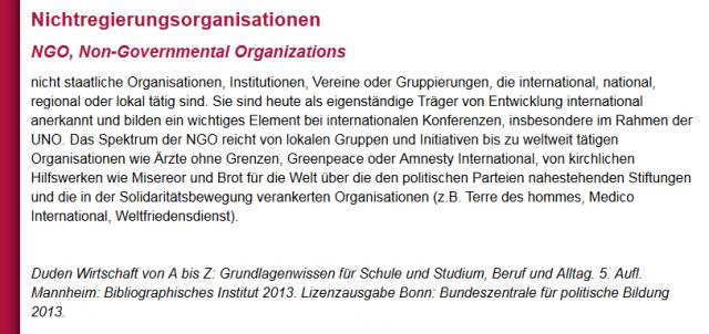 NGO_Snippet von bpb_de
