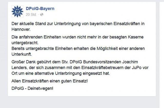 DPoIG-Bayern_ FB Snippet, gesehen 25.04.2016