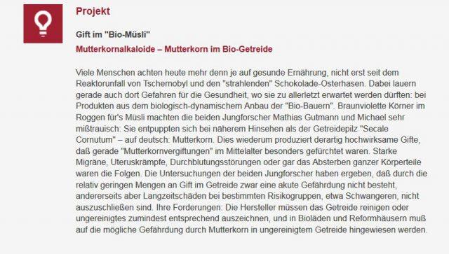 Snippet_jugend-forscht_mutterkorn