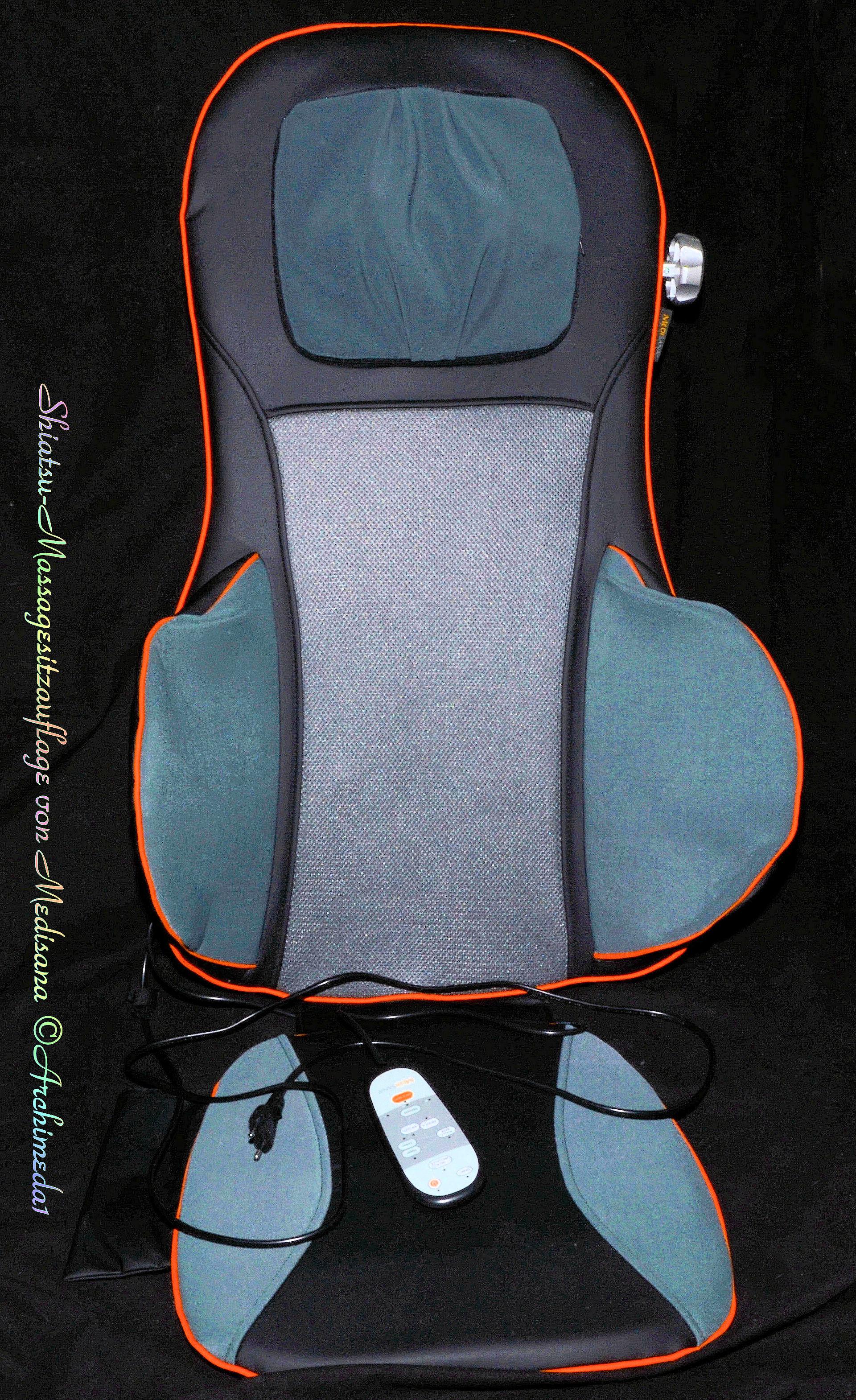 archi testet medisana shiatsu massagesitzauflage f r r cken und nackenschmerzen. Black Bedroom Furniture Sets. Home Design Ideas