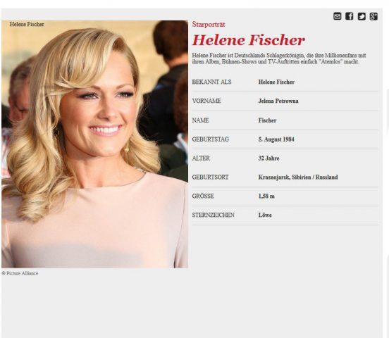 Helene Fischer_Infos von GALA_de